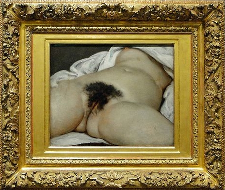 L'origine du Monde , Gustave Courbet