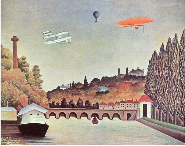 Vue du Pont de Sèvres, 1908, huile sur toile, 80 x 102 cm