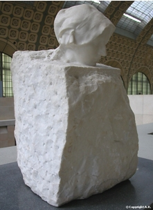 Auguste Rodin , La Pensée, 1893-1895, marbre