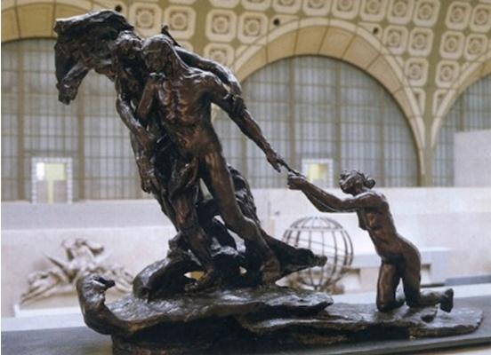 Camille Claudel, L'âge mur. 1902, bronze