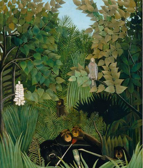 Joyeux farceurs, 1906, huile sur toile146 X 113,6 cm