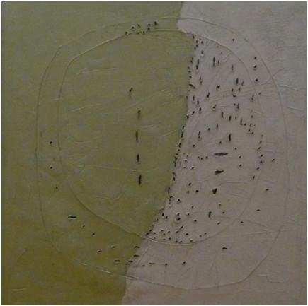 Lucio Fontana, Concetto spaziale , 1960