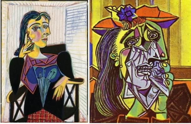 Picasso – Portrait de Dora Maar, 1937 et la femme qui pleure, 1937