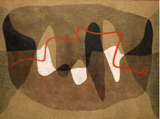 Klee, Chemins de serpents 1924