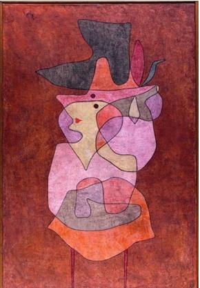 Klee, Dame démon, 1935