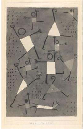 Klee, Danses sous l'empire de la peur,1938