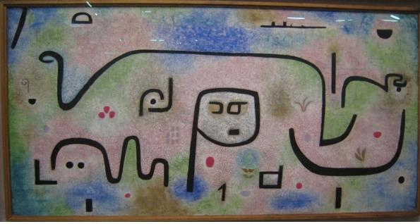 Klee, Insula dulcamara 1938