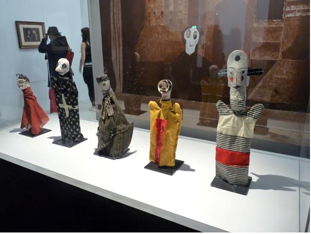 Klee, Marionnettes à main1912-1925