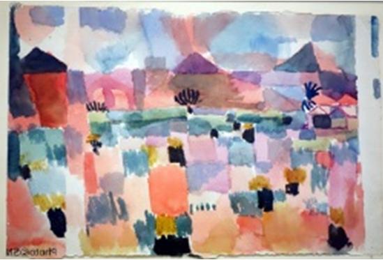 Klee, Saint Germain près de Tunis 1934