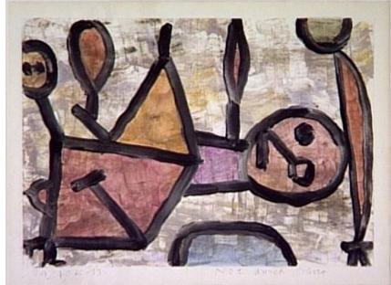 Klee, Souffrance d'aridité,1940