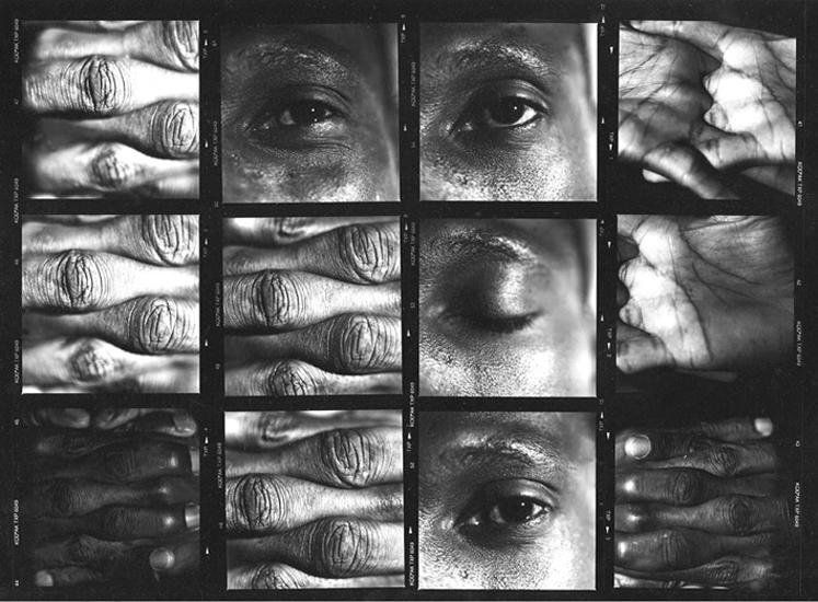L'oeil, la main série Les Réfugiés