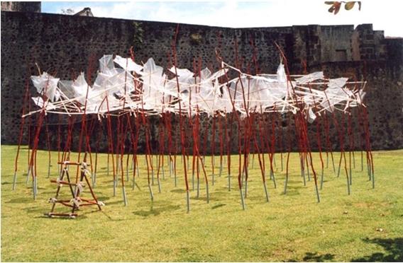 allegorie-dune-bataille-ou-la-mort-de-delgres-installation-guadeloupe-2000