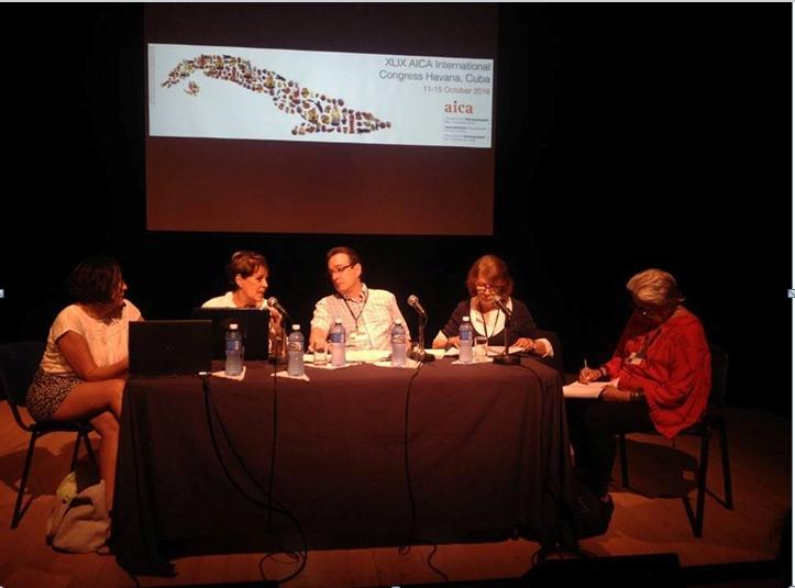 Visuel du XLIX congrès international de l'AICA à Cuba