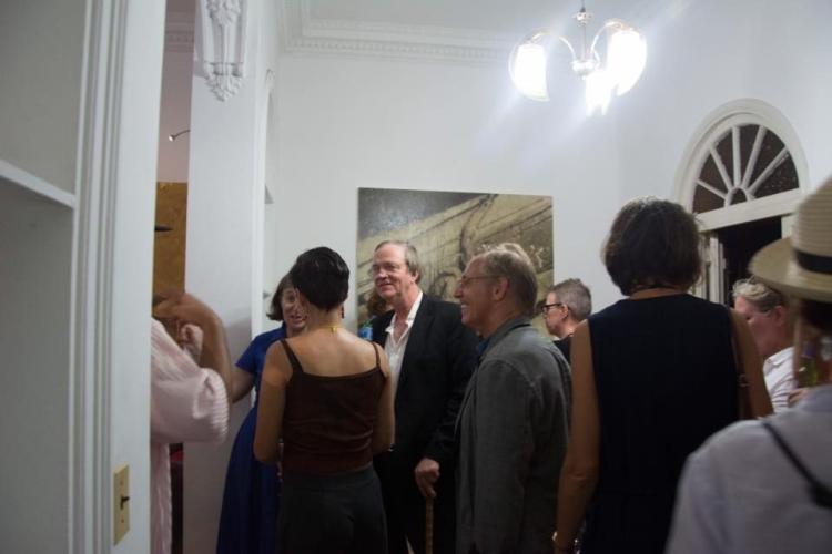 Visite du studio SERONES Carlos Pérez, Diptyque série Neo-Posturas, 2016 (exposition MichelChaillous, KarlosPérez, Stainless &Serones Art Group