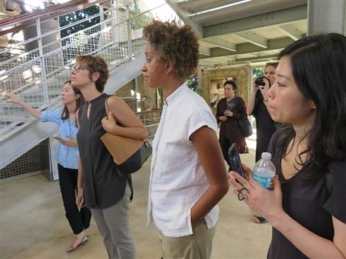 Visite de la Fondation Clément