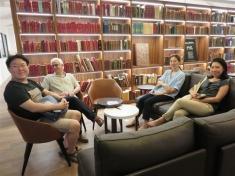 Fondation Clément : la bibliothèque