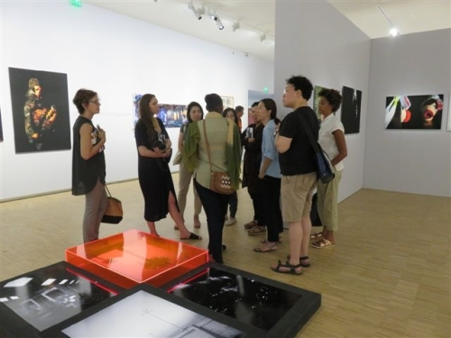 Visite de l'exposition Visions archipéliques