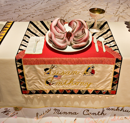 Judy Chicago The dinner's party