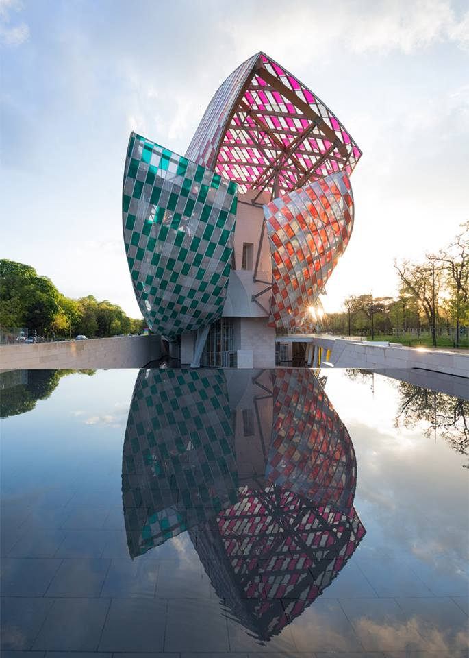 Buren Fondation Vuitton
