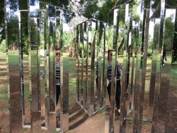 Jeppe Hein Dimensionnal Mirror Labyrinth