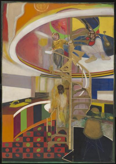 Mirror 1966 Frank Bowling