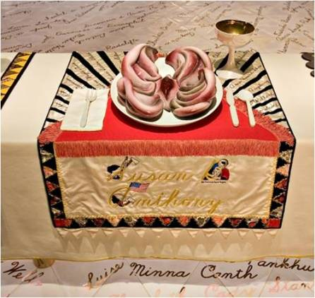 1 Judy Chicago The Dinner Party 1974