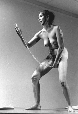 7 Carolee Schneemann Interior Scroll 1975