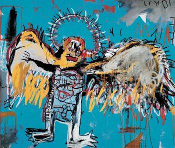 Basquiat et Koons pèsent 12% du Marché de l'artcontemporain.
