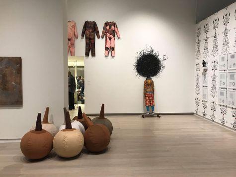 Vue d'ensemble avec des oeuvres de Jorge Pineda et RaquelPaïewonsky photo Lynn Parotti