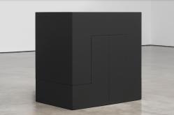 Carmen Herrera, Pavanne Black 1967 2016 Courtesy Lisson Gallery