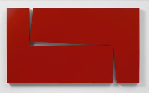 Carmen Herrera, Untitled Estructura (Red) 1966 2016 Courtesy Lisson Gallery