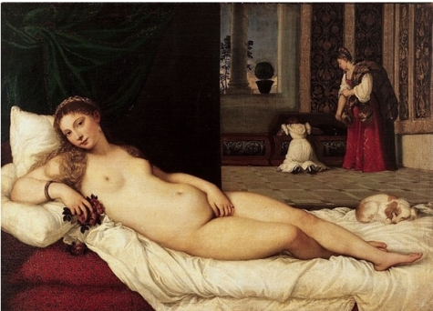 12 Le titien La Venus d'Urbin 1538