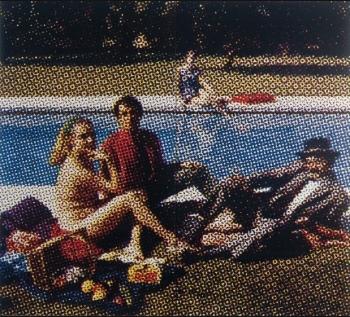 26 Le déjeuner sur l'herbe Alain Jacquet 1964