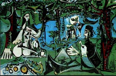 27 Le déjeuner sur l'herbe Picasso