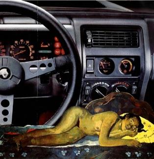 39 Nevermore de Erro d'après gauguin 1984