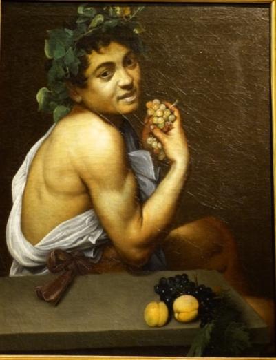 3 Le jeune Bacchus malade Le Caravage