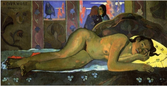 40 Nevermore Gauguin