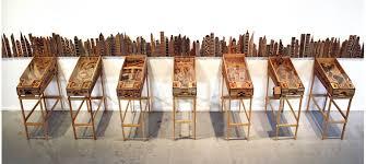 Abel Barosso- Flipper de l'émigrant - Installation