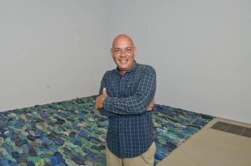 Tony Capellan - Mar del Caraibe - Installation de tongs