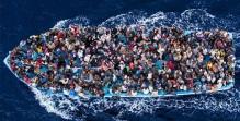 Boat people africains en Méditerranée