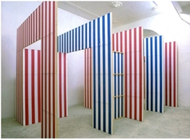 Daniel Buren Les Portes (Camino a las puertas), 1985