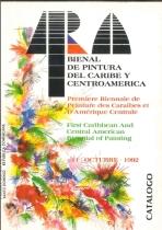 Première biennale de peinture de la Caraïbe et de l'Amérique latine en 1992 au Musée d'art moderne de Santo Domingo ( Rep. dom. )