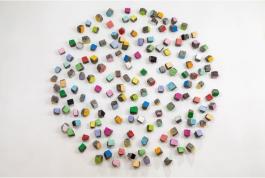 Big colorfull stones 2019© Galleria Continua
