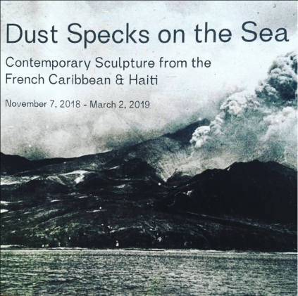 Dust Speck on the sea en 2018 au Hunter East Harlem Gallery (USA) Curator Arden Sherman