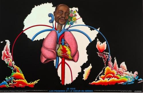 Cheri Samba Je suis les poumons et le coeur du monde