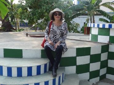 Biennale de La Havane 2015 Installation de Daniel Buren Casa Blanca