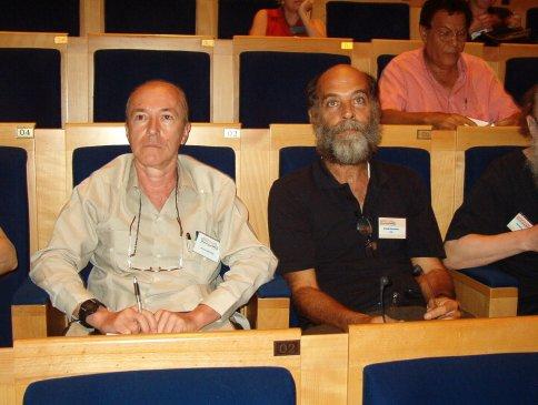 Congrès de l'aica International à Barbade et en Martinqiue 2003 Gerardo Mosquera et Orlando Hernandez