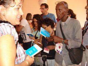 Présentation au Centre Wifredo Lam pendant la Biennale de La Havane de Curating in the Cribbean, ouvrage collectif, ,initié et coordonné par Barbade 2012