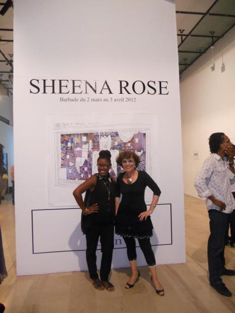 Exposition Sheena Rose à Tropiques Atrium 2010