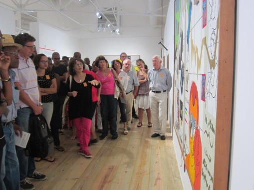 Les dimanches de la Fondation Clément, visite guidée de l'exposition Hervé Télémaque